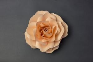 papír virág rózsa
