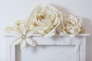 dekoráció papírból rendezvényre